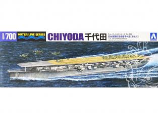 Aoshima maquette bateau 09536 Chiyoda Porte-avions I.J.N. Water Line Series 1/700