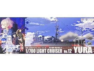 Aoshima maquette bateau 13434 Yura Croiseur léger Ars Nova 1/700