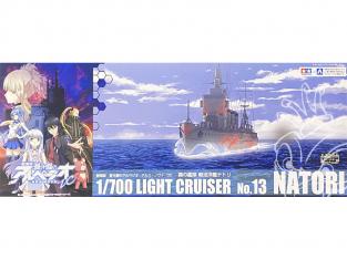 Aoshima maquette bateau 13458 Natori Croiseur léger Ars Nova 1/700