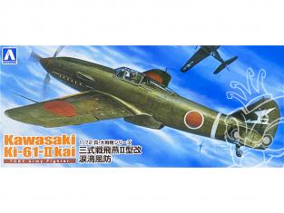 Aoshima maquette avion 22467 Kawasaki Ki-61-II Kai 1/72