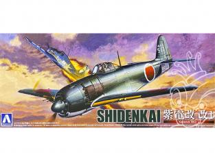 Aoshima maquette avion 11706 Shidenkai Kawanishi NIK3-J 1/72