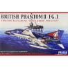 "Fujimi maquette avion 722726 Phantom II FG.1 Britannique ""Silver Jubilee"" Royal Navy 1/72"