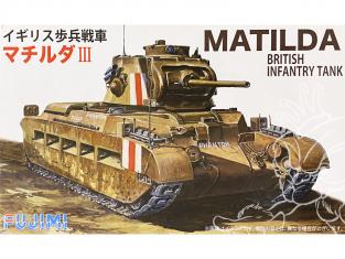 Fujimi maquette militaire 762210 Char Matilda Britannique 1/76