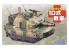 Fujimi maquette militaire 763118 Char Type 10 Cartoon