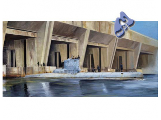 Trumpeter maquettes sous marin 05907 U-BOAT TYPE XXIII 1/144