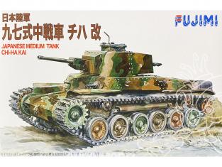 Fujimi maquette militaire 761114 CHI-HA KAI Char moyen Japonais 1/76