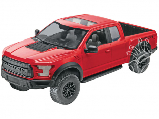 REVELL US maquette enfant 1985 Ford F-150 Raptor Easy-click 1/25