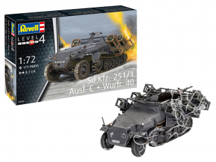 Revell maquette militaire 03324 Sd.Kfz. 251/1 Ausf. C avec Wurfr. 4 1/72
