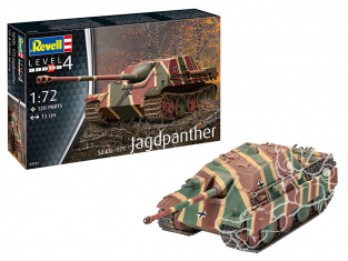 Revell maquette militaire 03327 Jagdpanther Sd.Kfz.173 1/72