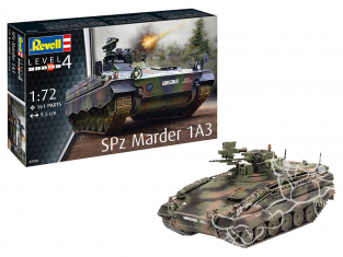 Revell maquette militaire 03326 Spz Marder 1A3 1/72