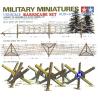 tamiya maquette militaire 35027 set de barricades 1/35