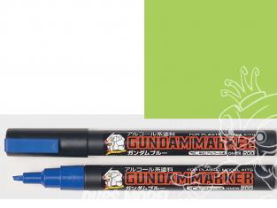 Mr Hobby GM15 Marqueur Gundam pour la peinture vert fluorescent