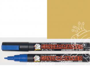 Mr Hobby GM04 Marqueur Gundam pour la peinture Or Gundam