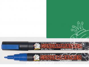 Mr Hobby GM18 Marqueur Gundam pour la peinture Meta Green