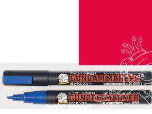 Mr Hobby GM07 Marqueur Gundam pour la peinture rouge