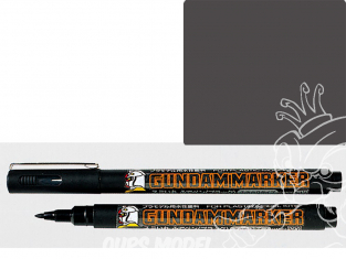 Mr Hobby GM21 Marqueur GUNDAM MARKER Type pinceau Gris
