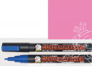 Mr Hobby GM14 Marqueur Gundam pour la peinture rose fluo