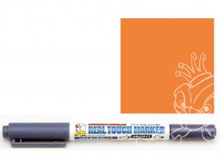 Mr Hobby GM405 Ensemble GUNDAM MARKER REAL TOUCH Stylo orange 1 Weathering
