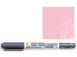 Mr Hobby GM410 Ensemble GUNDAM MARKER REAL TOUCH Stylo Pink 1 Weathering