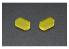 HASEGAWA TF939 PLAQUE FINITION Adhésive Finition jaune clair Ideal surface incurvée suivant la feuille transparente
