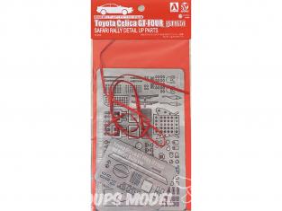 Beemax pour maquette de Rallye 097892 Toyota Celica GT-Four (St165) Rallye Safari 1990 kit d'amelioration 1/24