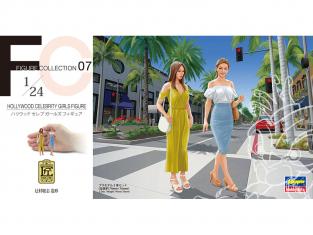 Hasegawa maquette voiture 29107 Hollywood Figurines de célébrités Féminines 1/24