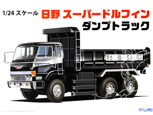 Fujimi maquette camion 11943 Camion Hino Super Dolphin Dump Truck 1/24