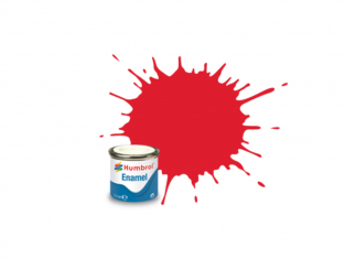 HUMBROL Peinture enamel 019 XXL Rouge Vermillon 125ml