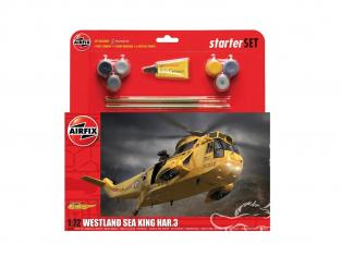 Airfix maquette Helicoptére A55307A Large Starter Set - Westland Sea King HAR.3 1/72