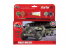 Airfix maquette militaire A55117 Small Starter Set Willys MB Jeep avec remorques 1/72
