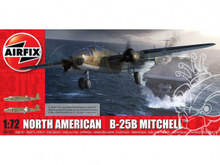Airfix maquette avion A06020 North American B25B Mitchell 1/72