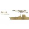 Meng maquettes bateau ES-007 USS LEXINGTON CV-2 PORTE-AVIONS US NAVY WWII extreme edition 1/700
