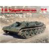 Icm maquette militaire 35371 T-34 «Tyagach» modèle 1944, machine de récupération soviétique 1/35
