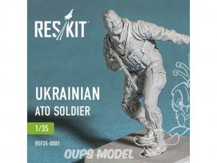 ResKit RSF35-0001 Figurines de soldat Ukrainien ATO 1/35