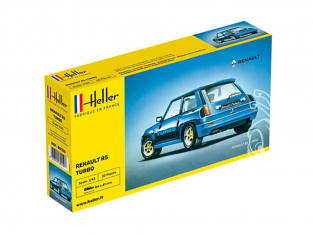 HELLER maquette voiture 80150 Renault R5 Turbo 1/43