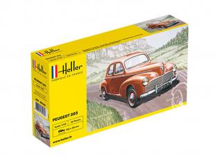 HELLER maquette voiture 80160 PEUGEOT 203 1/43