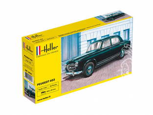 HELLER maquette voiture 80161 PEUGEOT 403 1/43