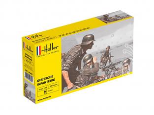 Heller maquette militaire 49605 Infanterie Allemande 1/72