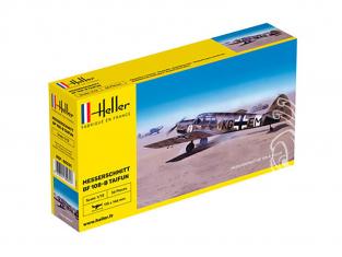 HELLER maquette avion 80231 Messerschmitt BF108B 1/72