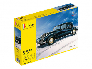 Heller maquette voiture 80763 Citoen traction 15CV 1/24