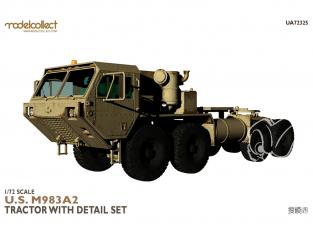 Modelcollect maquette militaire 72325 Tracteur U.S M983A2 avec jeu de détails 1/72