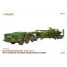 Modelcollect maquette militaire 72329 Armée soviétique MAZ-7410-6 avec remorque ChMZAP-9990 et T-64 MBT 1/72