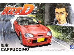 Aoshima maquette voiture 39519 Suzuki Capuccino Sakamoto Initial D 1/24