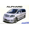Aoshima maquette voiture 57490 Toyota Alphard NH10W 2005 1/24