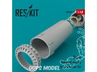 ResKit kit d'amelioration Avion RSU48-0019 Tuyère pour Su-9 kit Trumpeter 1/48