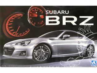 Aoshima maquette voiture 04586 Subaru BRZ 2012 S Grade 1/24