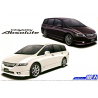 Aoshima maquette voiture 57384 Honda Odyssey Absolute RB1 2006 1/24