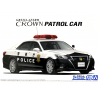 Aoshima maquette voiture 57520 Toyota Crown Police - Voiture patrouille GRS214-AEZRH 2016 1/24