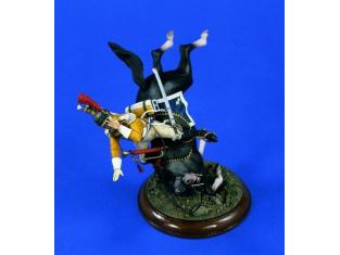 Verlinden Figurine militaire 1468 Chutte du Trompette 120mm