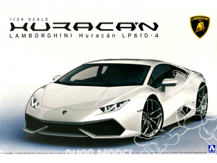 Aoshima maquette voiture 13762 Lamborghini Huracan LP610-4 1/24